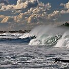 Wave action, Nobby's Beach by bazcelt