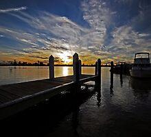 Marina Sunset by bazcelt
