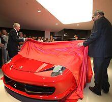 Launch of the Ferrari 458 Italia in Australia by David Petranker