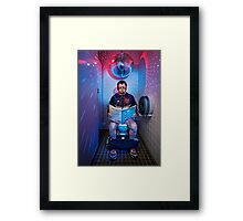 Disco Diablo Framed Print