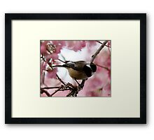 """""""Who Goes There?"""" Framed Print"""