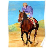 Beach Rider Poster