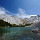 Rocky Mountain Vista, Third Picklejar Lake by EchoNorth