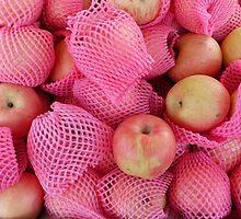 Food - delicate apples by Marjolein Katsma
