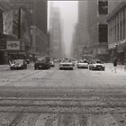 Slow NY in the Snow by Sonia de Macedo-Stewart