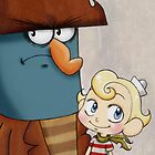 K'nuckles & Flapjack by Haley Carper