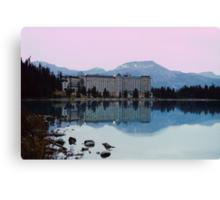 Reflections- Chateau Lake Louise Canvas Print