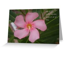 Life Is Full of Surprises - Greeting Card Greeting Card
