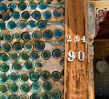 Rhyolite Bottle House Detail-2 by Zane Paxton
