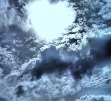 Love ~ written in the clouds by Donna Keevers Driver