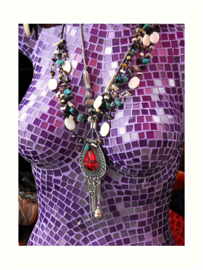 Purple Figure by Kayleigh Walmsley