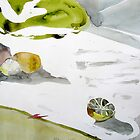 Still life with lemon by May Hege  Rygel