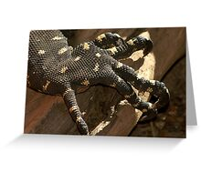 Claw Foot Greeting Card