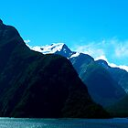 Pristine Beauty of Milford Sound NZ by Keith Richardson