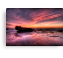 Pink Sky Morning..... Canvas Print