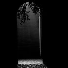Arch way B&W by Karen  Betts