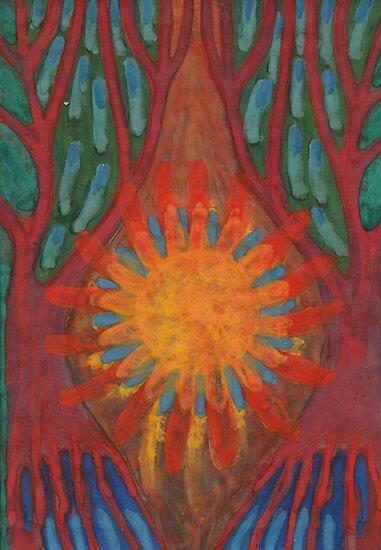 Heart Of Forest by Wojtek Kowalski