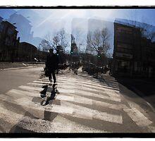 Street scene by Jean-François Dupuis