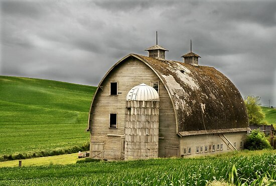 Hip Roof Barn By Dougf Redbubble