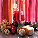Wine In The Dinning Room by Linda Miller Gesualdo
