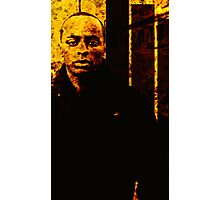 STRONG FACED (TWO TONE ART) Photographic Print