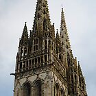 Quimper Cathedral by Claire Elford