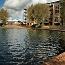 Lakeside View at Caldecotte, Milton Keynes by Nick Bland