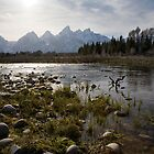 Tetons, Wyoming by Kim Barton