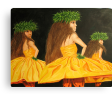 Golden Mele Canvas Print