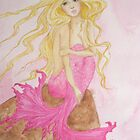 Pink Mermaid by simplyimpish