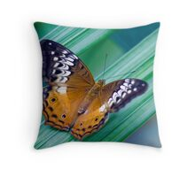 Cruiser Two - Kuranda butterfly sanctuary Throw Pillow