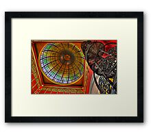 The Dome - Queen Victoria Building - SYDNEY Framed Print