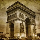 Paris - The Triumph Arch by jean-louis bouzou