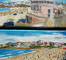 Bondi Beach Duo  by gillsart