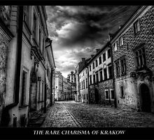Krakow Streets in B&W by capturedjourney