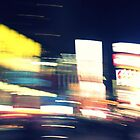 Times Square Blur Two by mackography