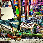 The Crab Shack Boat by suzannem73