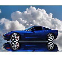 Corvette C6 Profile Photographic Print