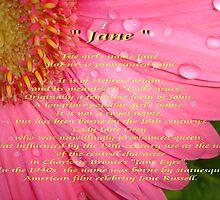 """Jane"" by Gail Jones"