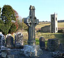 Killamery High Cross,County Kilkenny,circa 632,#1 by Pat Duggan