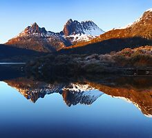 Cradle Morning in August - Cradle Mountain N.P. by Mark Shean