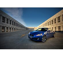 Hyundai Genesis Coupe Photographic Print