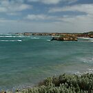 Water and rocks at Warrnambool by pitspics