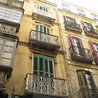Windows of Malaga by Danger Cain