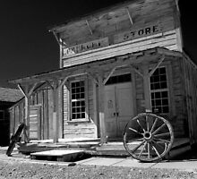 Pahrump, NV  General Store B&W IR by MKWhite