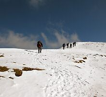 Carrauntoohil Ascent by John Quinn