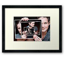 InfiniTane Framed Print