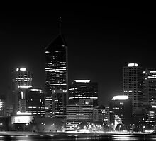 Perth City Lights Up by atomik