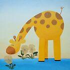 Giraffe by Koekelijn