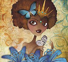 Lily of the Nile by sandygrafik